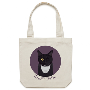 Ziggy Belle - Canvas Tote Bag - Ziggy Belle