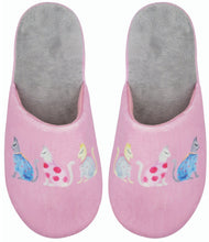 Load image into Gallery viewer, Cats by Kat Slippers by Wicked Sista - Ziggy Belle