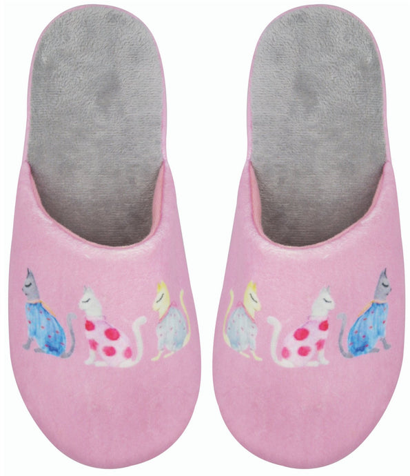 Cats by Kat Slippers by Wicked Sista - Ziggy Belle