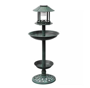 Ornamental Bird Bath and Feeding Station - Ziggy Belle