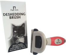 Load image into Gallery viewer, Ziggy Belle Deshedding Brush for Cats - Ziggy Belle