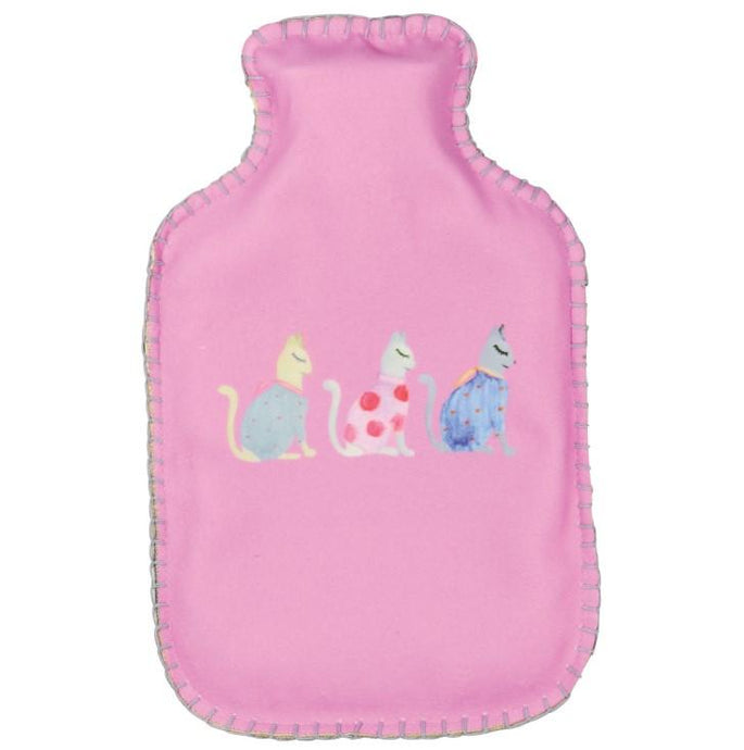 Cats by Kat Hot Water Bottle by Wicked Sista - Ziggy Belle