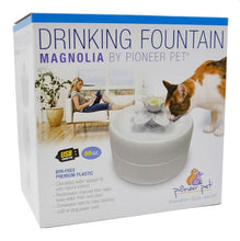 Load image into Gallery viewer, *NEW* Magnolia Pioneer Cat Fountain 1.62lt - Ziggy Belle