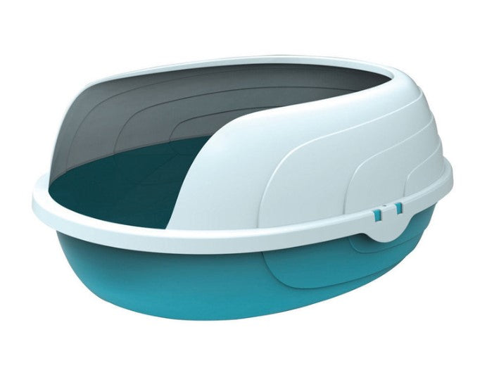 Sherbin Cat Litter Tray with Raised Rim - Ziggy Belle