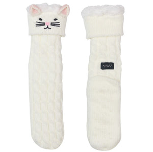 Kitty Cat Slipper Socks by Wicked Sista - Ziggy Belle