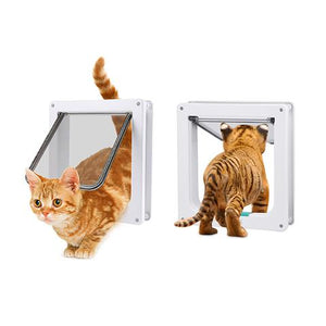 Pawz 4 Way Lockable Cat Flap Door - Ziggy Belle