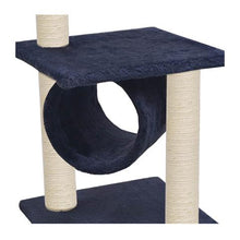 Load image into Gallery viewer, Classic Cat Perch & Tunnel  65cm - Ziggy Belle
