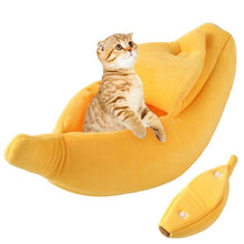 Load image into Gallery viewer, Kitty Cat Banana Bed - Ziggy Belle