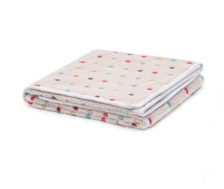 Fluffy Spots Soft Cat Blanket - Ziggy Belle