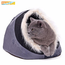 Load image into Gallery viewer, Pawz Road Furry Cat Cave - Ziggy Belle