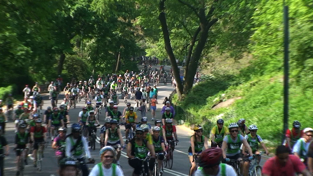 10104C - BICYCLISTS, BIKE RIDERS IN CENTRAL PARK