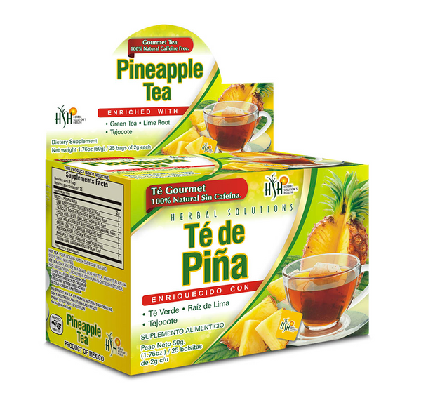 Pineapple Tea Diuretic effect