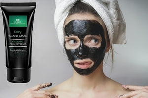 DIARY CHARCOAL MASK, BLACKHEAD PEEL OFF MASK AND BRUSH KIT