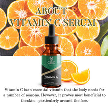Load image into Gallery viewer, VITAMIN C SERUM FOR FACE WITH 20% HYALURONIC ACID & VITAMIN E – 1 OZ Acne Clarifying Serum,Anti Ageing