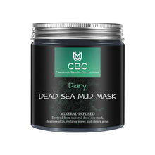 Load image into Gallery viewer, DEAD SEA MUD MASK- All NATURAL PORE REDUCER FOR ACNE- TIGHTENS SKIN FOR A HEALTHIER SKIN.