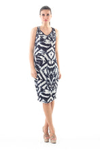 Load image into Gallery viewer, Sleeveless Allover Print Dress