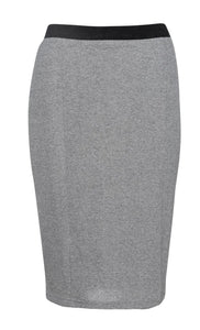 Silver Lurex Pencil skirt Conquista