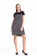 Load image into Gallery viewer, Striped A Line Dress