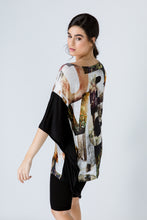 Load image into Gallery viewer, Asymmetric Print Tunic