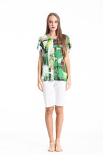 Load image into Gallery viewer, Slit Detail Short Sleeve Top