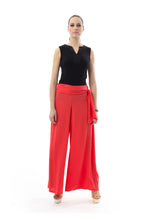 Load image into Gallery viewer, Tie Waist Palazzo Pants