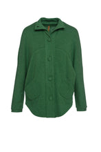 Load image into Gallery viewer, Raglan Sleeve Jacket in Green