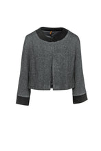 Load image into Gallery viewer, Anthracite Long Sleeve Bolero