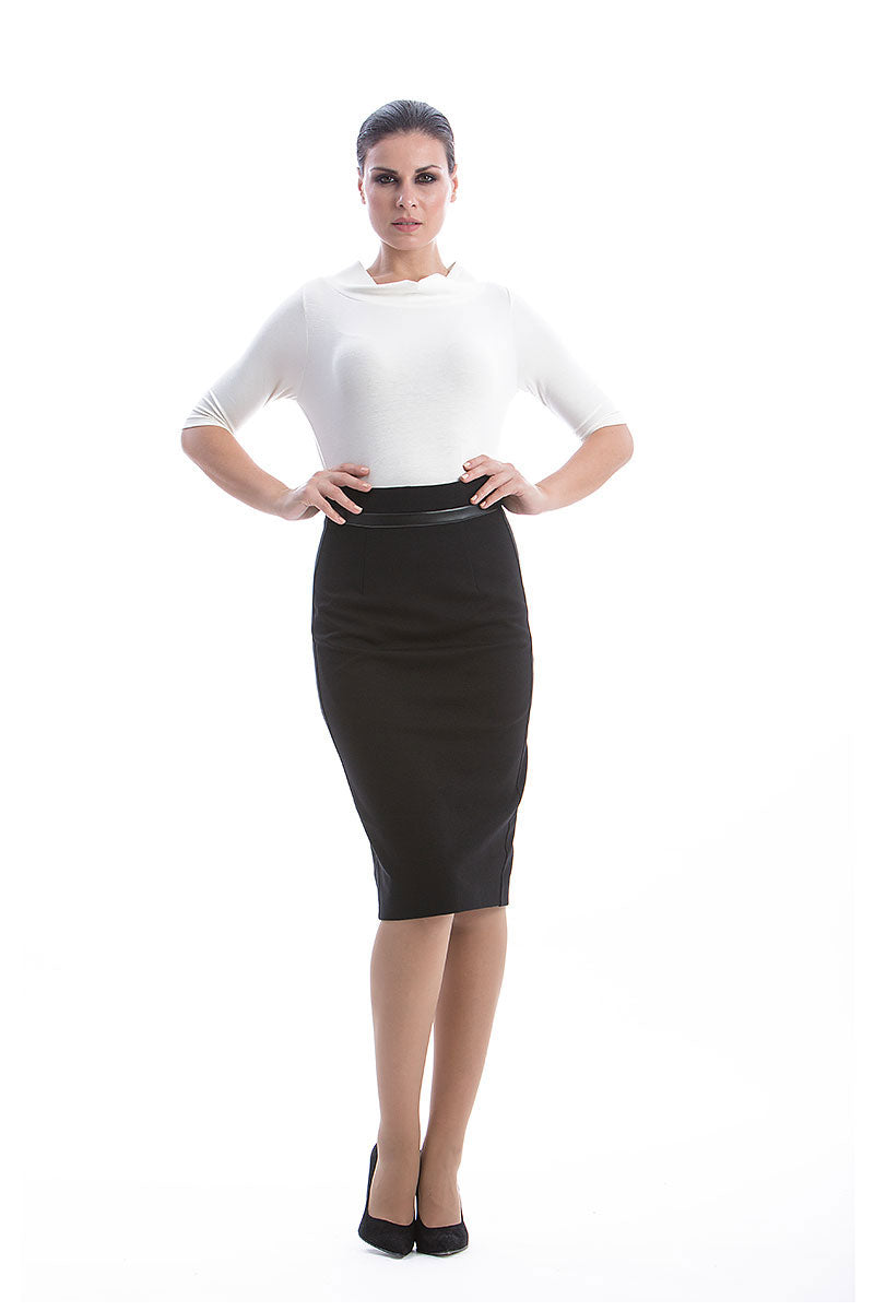Pencil Skirt by Conquista Fashion