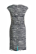 Load image into Gallery viewer, Sleeveless Striped Fitted Dress