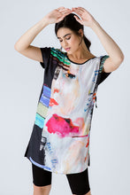 Load image into Gallery viewer, Sleeveless Loose Fitting Print Dress