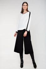 Load image into Gallery viewer, High-Waisted Wide Leg Trousers