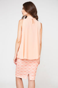 Tie Detail Sleeveless Top