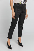 Load image into Gallery viewer, Slim Fit Black Pants Conquista Fashion