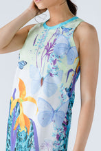 Load image into Gallery viewer, Butterfly Print Sleeveless Dress