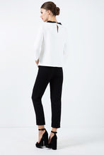 Load image into Gallery viewer, Black Pocket Detail Trousers
