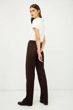 Load image into Gallery viewer, Classic Straight Trousers Brown