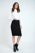 Load image into Gallery viewer, Fitted Pencil Skirt