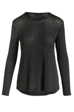 Load image into Gallery viewer, Dark Grey Fine Knit Top Fine Knit Top