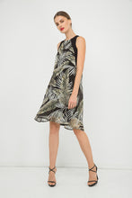 Load image into Gallery viewer, Sleeveless A Line Print Chiffon Dress