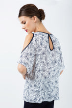 Load image into Gallery viewer, Floral Cold Shoulder Top