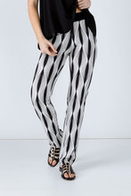 Load image into Gallery viewer, Black and White Stretch Pants