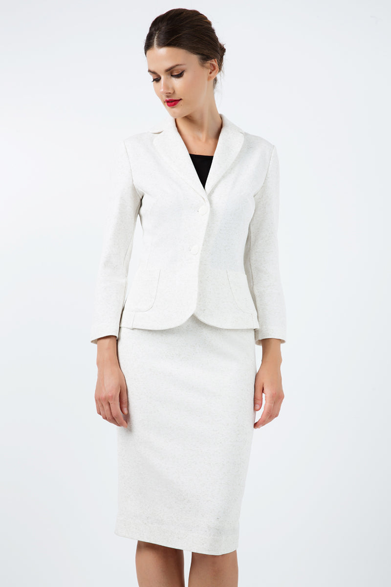 Fitted Long Sleeve Jacket