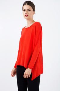 Loose Knit Top in Grenadine