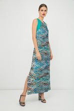 Load image into Gallery viewer, Sleeveless Print Maxi Dress