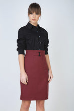 Load image into Gallery viewer, Pencil Skirt with Belt Detail