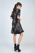 Load image into Gallery viewer, Print Flare Hem Dress
