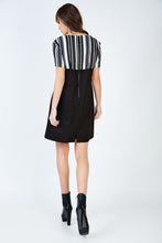 Load image into Gallery viewer, Stripe Detail A Line Dress