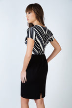 Load image into Gallery viewer, Stripe Detail Straight Dress