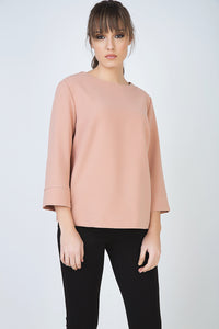 Boat Neck Top by Conquista Fashion