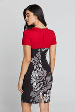 Load image into Gallery viewer, Red Floral Dress by Conquista